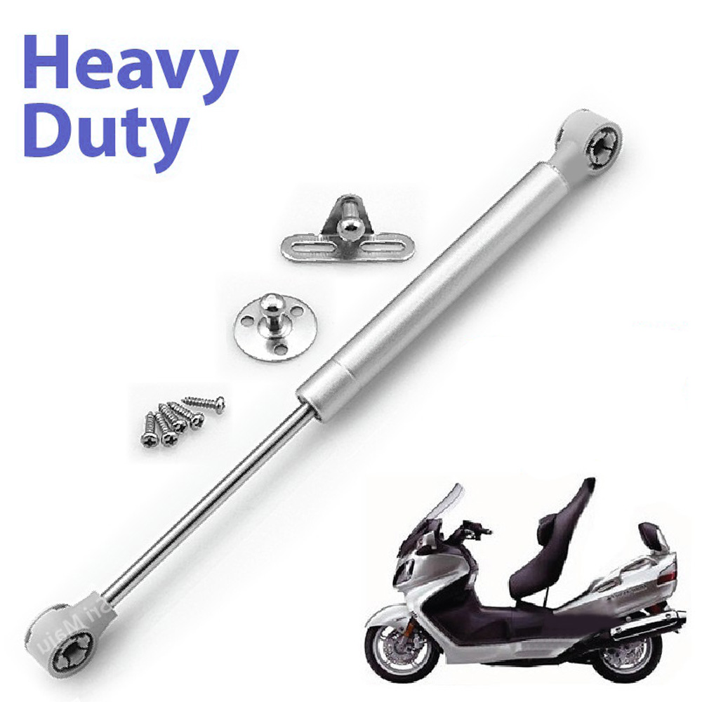 Motorbike Seat Shock Absorber Bracket Hydraulic Automatic Pump Silver For Motorcycle Mmopeds / Scooters