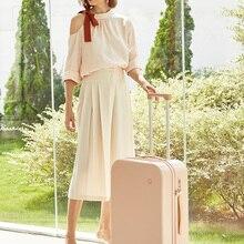 Travel Trolley Case Luggage Spinner Wheels Carry Mixi Lock TSA PC M9236 Mute Ons Men