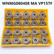 WNMG080408 MA VP15TF External Turning Insert Carbide Insert CVD + PVD Lathe Tool WNMG 080408 Turning Insert Tool WNMG080408 режущий инструмент mitsubishi wnmg080408 ma ue6110 ue6020