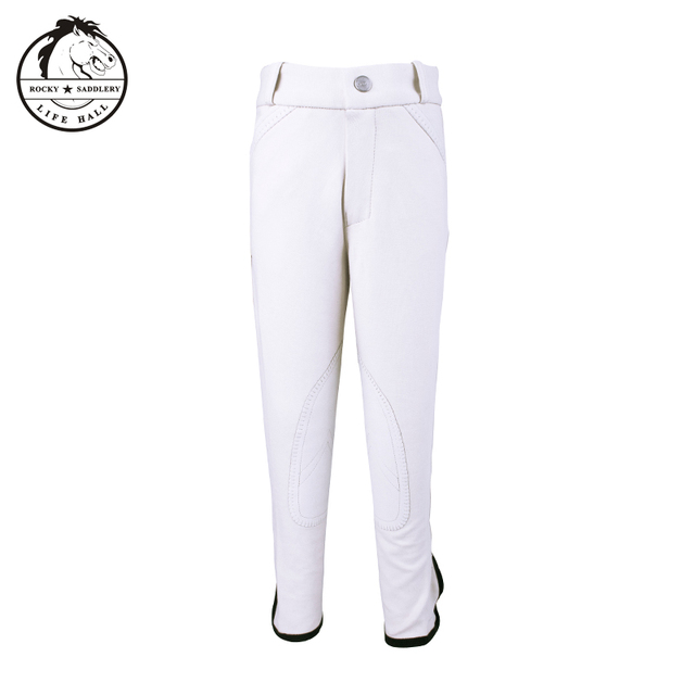 Cavassion children's breeches, children's riding pants, stretchy, soft and breathable  4