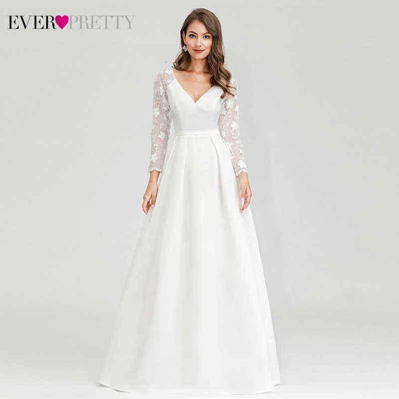 Vestidos De Novia Elegantes Siempre Bonitos Ep00707wh Línea