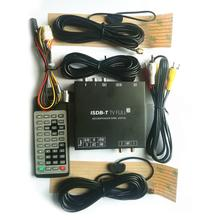 12-24V Car ISDB Digital TV Box FULL-Seg ISDB-T Receiver HD Combo Type Full Module MPEG-2 MP HL MPEG-4 H.264 Decoder