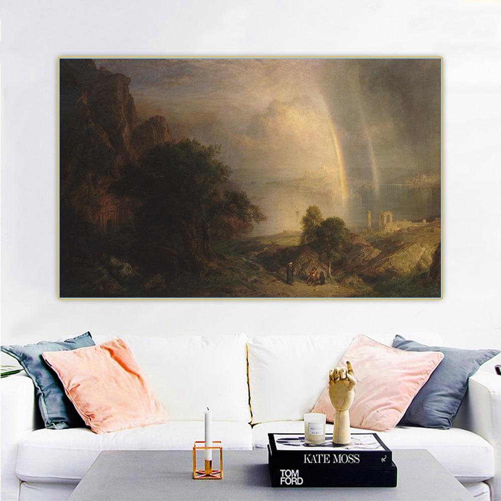 Купить цитон фредерик эдвин церковь aegean эгейское море canvas холст