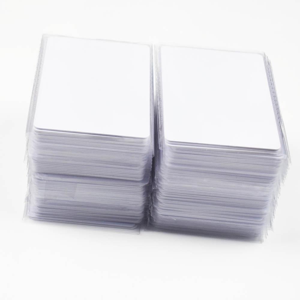 100 шт RFID ключ тег карта контроля доступа 13,56 МГц бесконтактные высокочастотные IC карты белый ПВХ посещаемость доступа NFC карта
