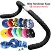 Bicycle Handlebar Tape BV EVA Road Bike Handlebar Tapes Bicycle Bar Tape Cycling Handle Wraps Non-slip Belt Steering Wheel Cover