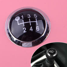 DWCX 33624-09010 Plastic 6 Speed Car Gear Shift Knob Cap Cover Trim Fit for Toyota Avensis 2009-2014 2015 2016 2017 2018 2019 цена и фото