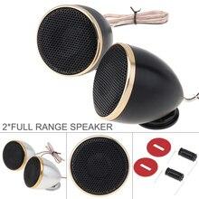 2 Stuks 2.5 Inch Aluminium Midrange Auto Tweeter Luidspreker 4 Ohm 200W Hifi Muziek Luidsprekers Voor Car Audio System voor Auto Voertuig