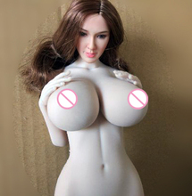 Uniquedoll UD5.0 1/6 Silicone SFD Female Body Super Large Chest Version for 12inch Action Figure DIY