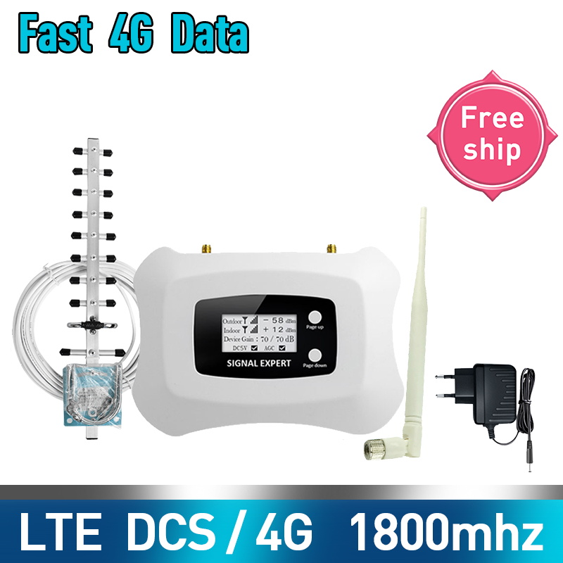 TFX-BOOSTER Generation Fashionable 1800MHz 2g 4g Mobile Signal Booster Cellular Amplifier 2g 4g DCS Cellular Signal Repeater Kit