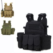 Military Gear Tactical Vest Army Combat Airsoft Vest Mens Outdoor Camouflage Hunting Clothing Paintball CS Wargame Molle Vest tactical vest hunting equipment airsoft vest army military gear outdoor paintball police molle vest for cs wargame 6 colors