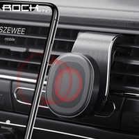 Rock suporte do telefone do carro para o telefone no carro suporte móvel magnético suporte de montagem do telefone para tablets e smartphones suporte telefone