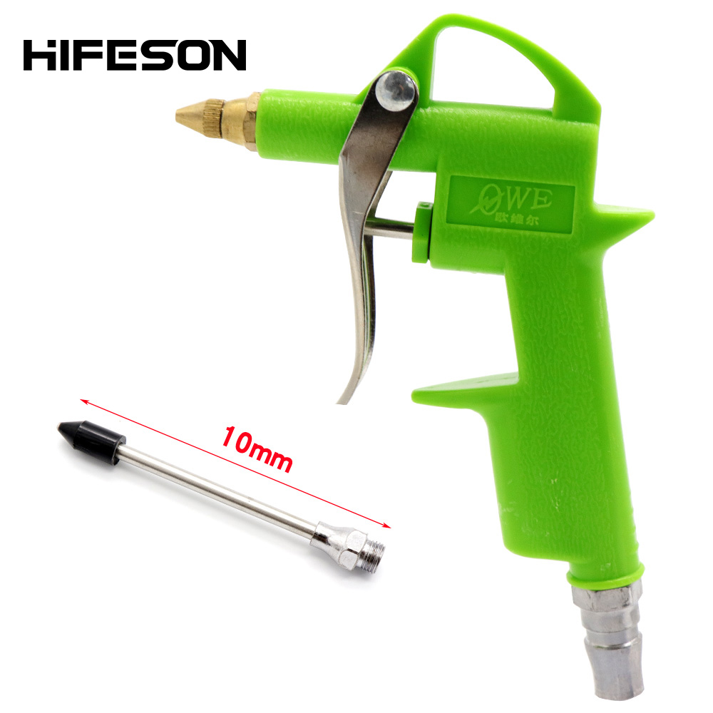 Air Blow Gun Pistol Pneumatic Dust Removal Gun Trigger Cleaner Cleaning Tool For Compressor
