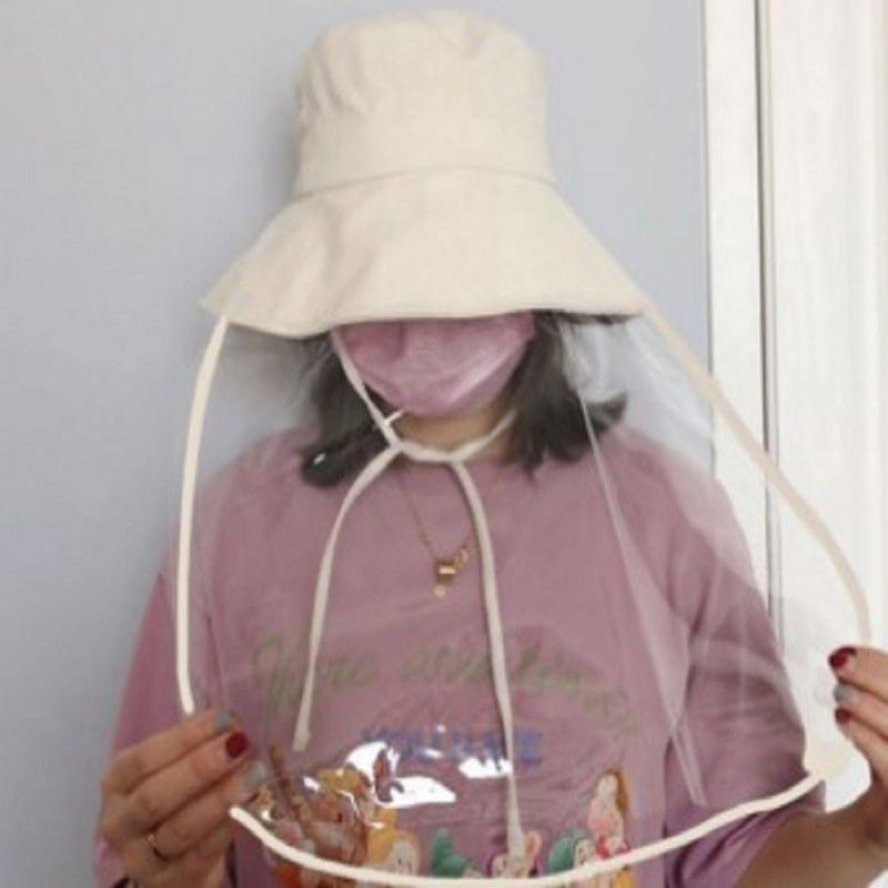 NEW Safety Anti Virus Coronavirus Dust Mask Cover With Hat   Anti-dust Anti-droplets Full Face Eyes Protection Mask