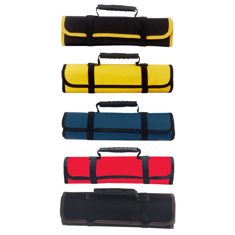 DIDIHOU Reel Rolling Tool Bags Pouch Professional Electricians Organizer Multi-purpose Car Repair Kit Bag