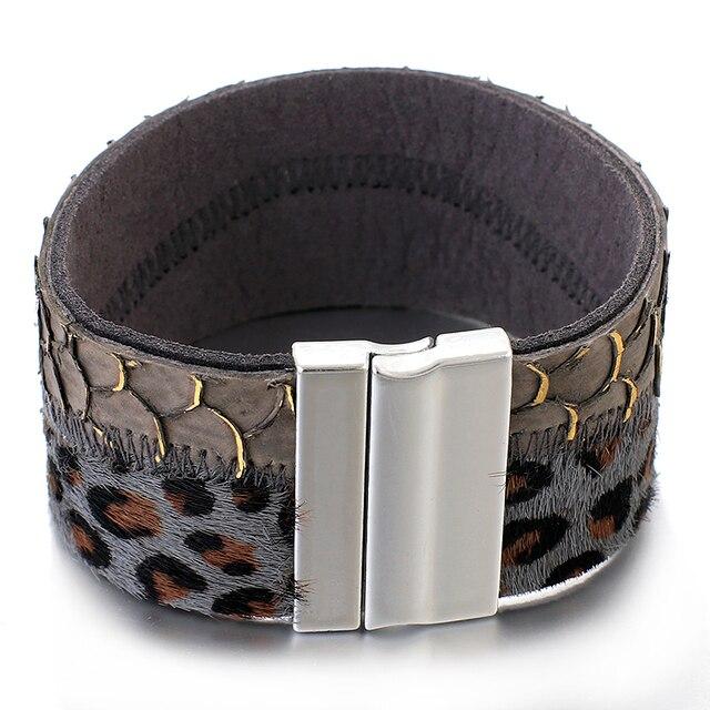 leopard pattern jewelry color black