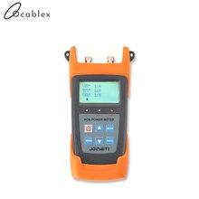 Medidor de potencia PON JW3213A PON + OPM + VFL, medidor de potencia óptica para señal de vídeo y datos de voz, medición simultánea en BPON EPON GPON