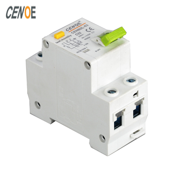 excellent leakage protection elcb earth leakage circuit breaker residual current circuit breaker DPNL1P+N16A 63A 230V~50/60HZ