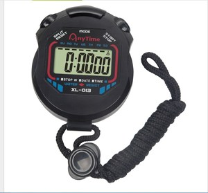 Image 1 - Classic Digital Professional Handheld LCD Chronograph Sports Stopwatch Timer Stop Watch With String 2020 New Sale