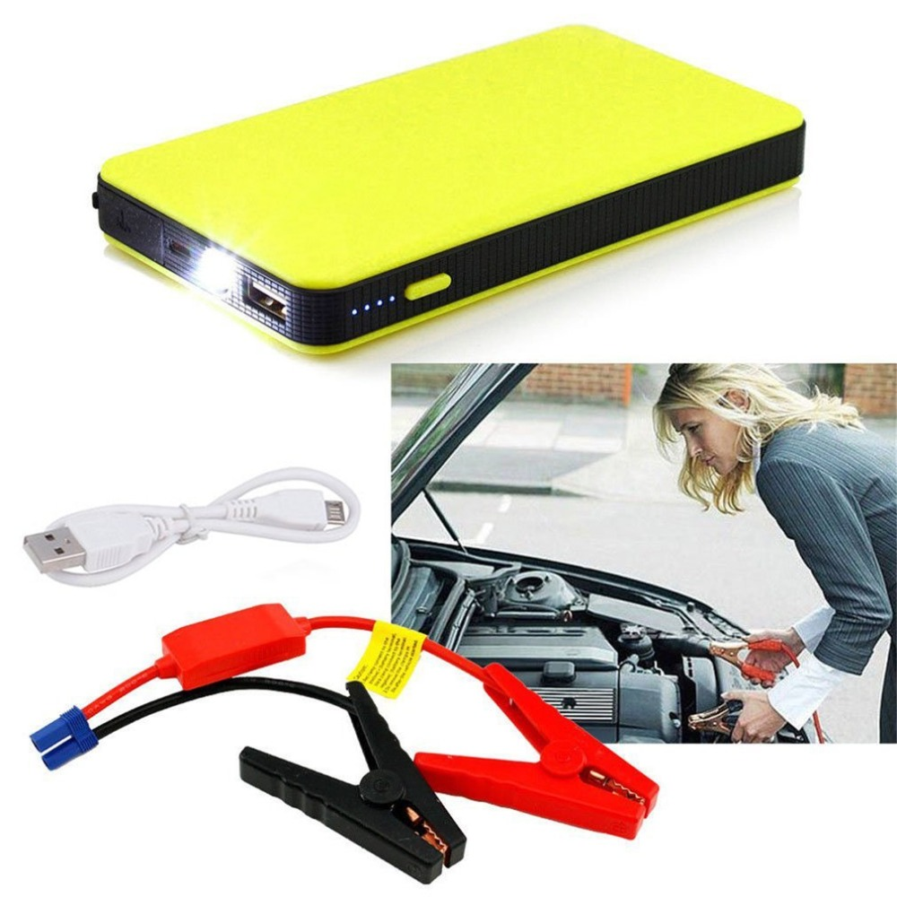 5 Color 12V 20000mAh Car Power Jump Start Auto Engine EPS Emergency Start Battery Source Laptop Portable Charger Utral-thin Hot