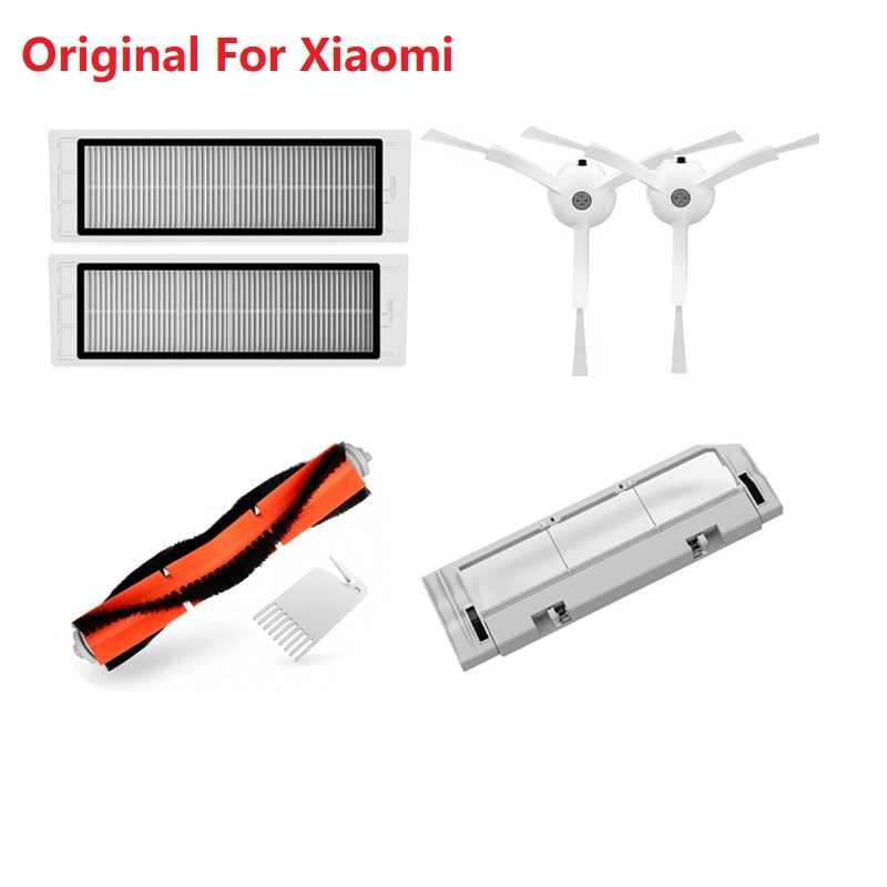 Main Side Brush Filter Kits for Xiaomi Mijia 1//1S Roborock S5//S50 Vacuum Cleaner