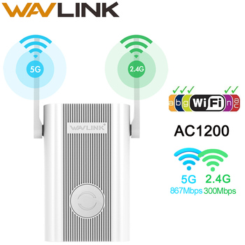 Wavlink Wireless WIFI Repeater Wifi Extender 1200Mbps Long Range Repetidor Wi fi Signal Amplifier Wi-fi Booster Access Point EU 1