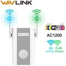 Wavlink Repetidor WIFI inalámbrico extensor Wifi 1200Mbps de largo alcance Repetidor amplificador de señal Wi-fi Booster Punto de Acceso EU