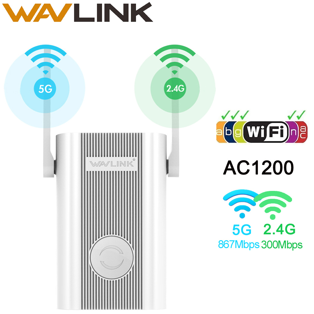 Wavlink Wireless WIFI Repeater Wifi Extender 1200Mbps Long Range Repetidor Wi Fi Signal Amplifier Wi-fi Booster Access Point EU