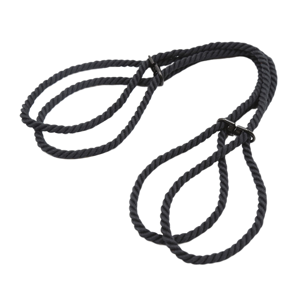 2pcs Lover Adults Rope Handcuffs  Cuffs Role Play Toy Body Restraint