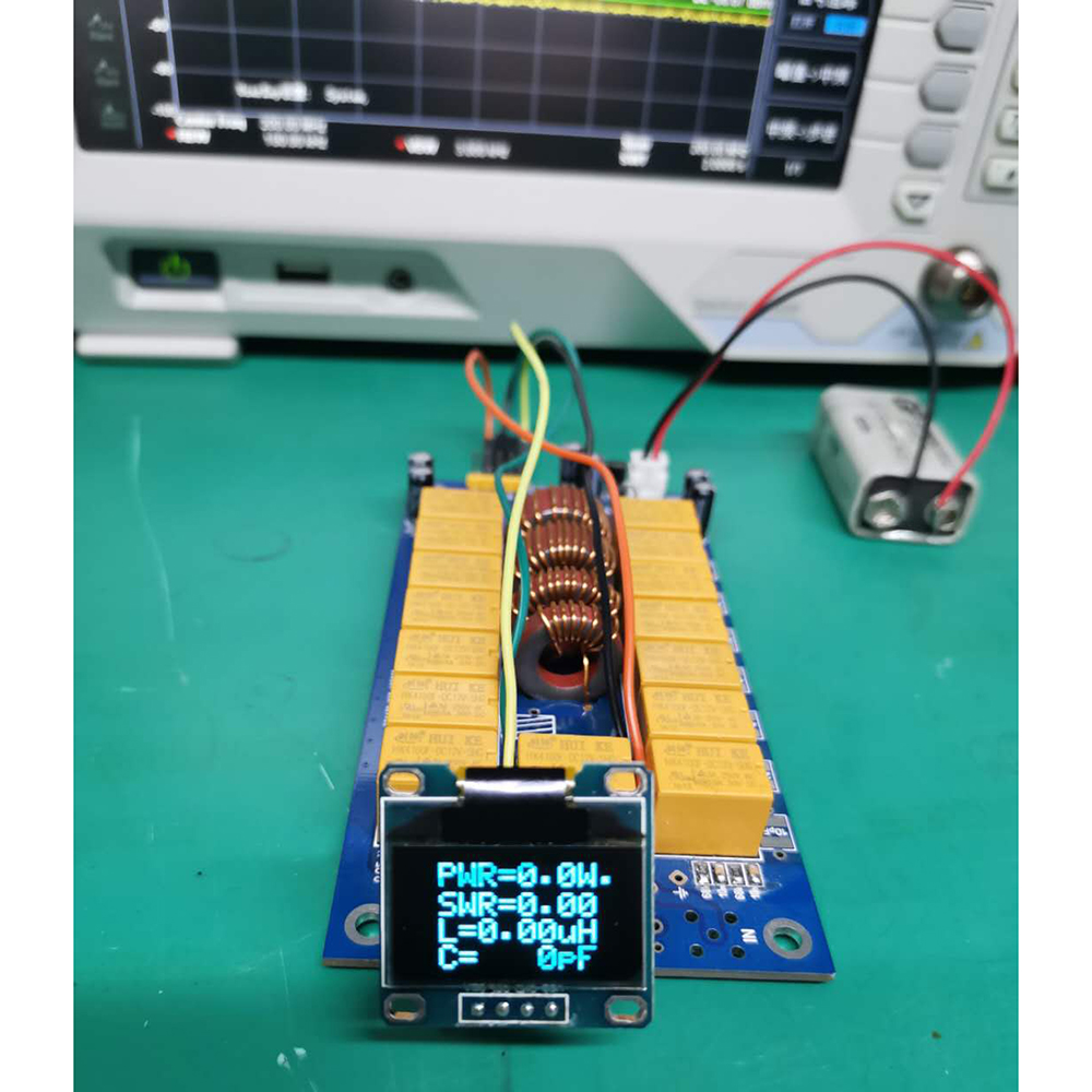 Мини 0,96 дюймов OLED ATU 100 DIY наборы 1,8 50 МГц ATU 100 Мини автоматический антенный тюнер от N7DDC 7x7 прошивка запрограммированная E3 010|Усилители мощности|   | АлиЭкспресс