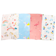 Muslin Wrap Newborn Infant Swaddle Blanket Baby Photography Unicorn Mantas De Bebes Girls Stroller Cover Mat