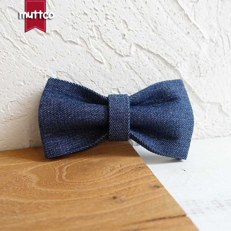 Muttco New Style Gentleman Pet Tie Medium-sized Dog Bow Bow Tie Teddy Neck Ring Accessories Ubt-036