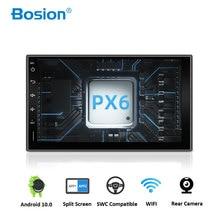 Bosionアンドロイド 10.0 カーラジオdvd bluetooth gpsナビゲーションwifiステレオビデオユニバーサルカーマルチメディアプレーヤーオーディオPX6 4 ギガバイト 64 ギガバイト