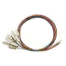 12 цветов SC Multimode мм OM4 0,9 мм 1 м 1,5 м 2 м волоконно-оптическая косичка LSZH