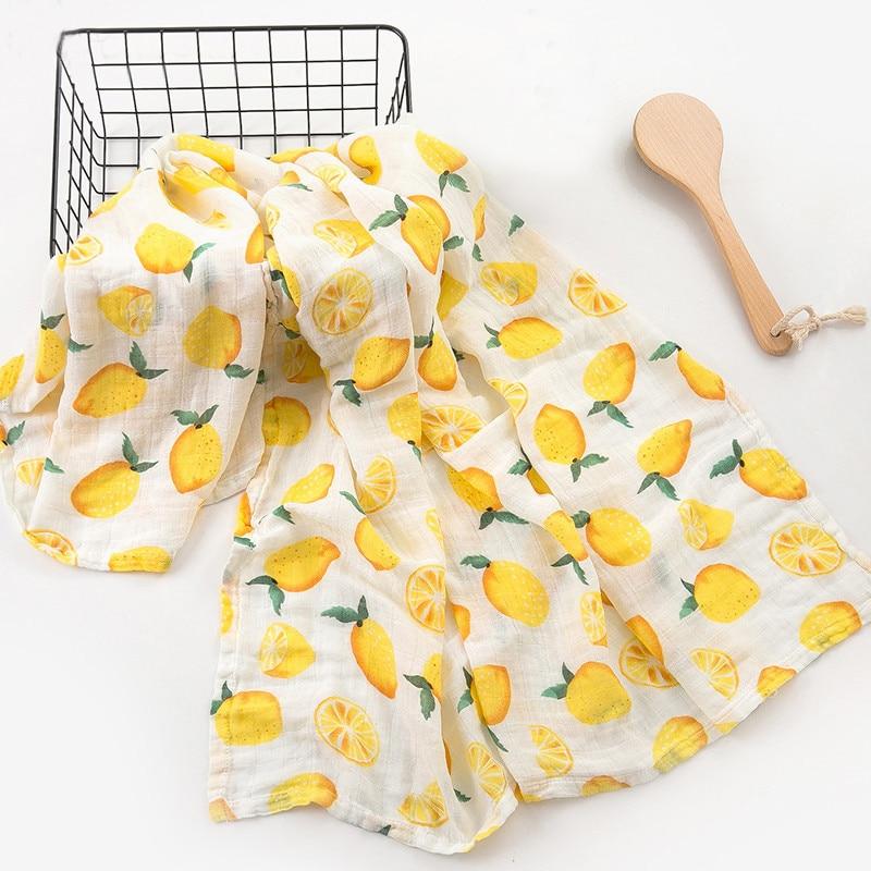 Baby Blankets Newborn Baby Bath 2 Layers 100% Muslin Cotton Swaddle For Baby Manta Bebe Bebek Battaniye Baby Wrap Stroller Cover