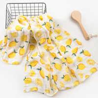 Cobertores do bebê recém-nascido banho 2 camadas 100% musselina algodão swaddle para o bebê manta bebe bebek battaniye envoltório do bebê carrinho de criança capa