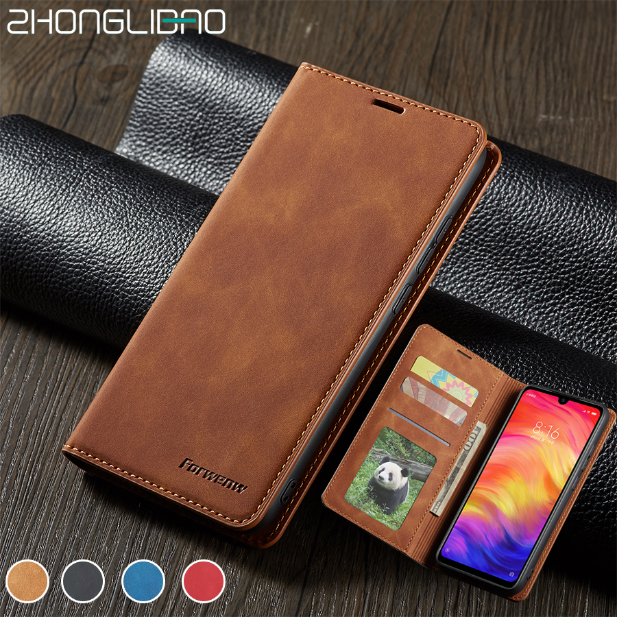 Xiomi <font><b>Redmi</b></font> <font><b>Note</b></font> <font><b>7</b></font> 8 Case Leather Book Cover for <font><b>Xiaomi</b></font> <font><b>Redmi</b></font> <font><b>Note</b></font> <font><b>7</b></font> 8 Pro Etui Magnetic Flip Wallet 360 Anti Shock <font><b>Redmi</b></font> <font><b>Note</b></font> 8 image