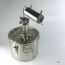 Moonshine מזקק 10 ליטר בית מבשלת destilador cerveza רוח ויסקי וודקה cidre זיקוק קריר בר באר בישול