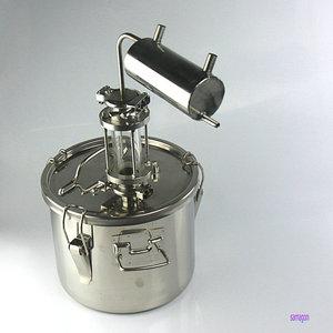 Image 1 - Moonshine distiller 10 ลิตรบ้าน Brewery destilador cerveza Spirit วิสกี้วอดก้า cidre กลั่น Cooler บาร์เบียร์