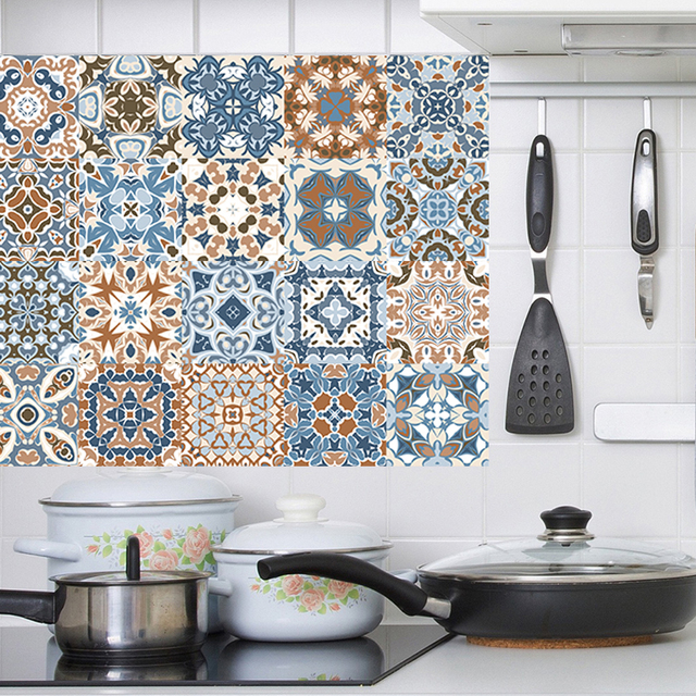 Arabic Style Mosaic Tile Stickers 4
