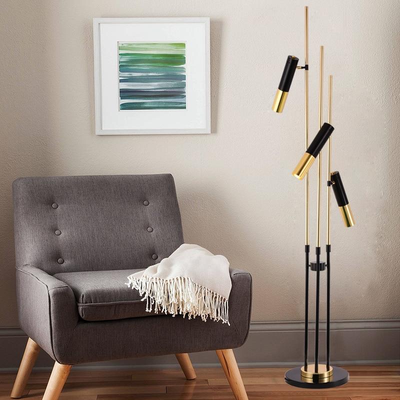 Дизайнеры выбирают современной гостиной современный торшер для спальни ночники Nordic искусство стол металлический кронштейн обшивки лампа