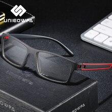 Monture de lunettes de Prescription optique pour hommes, monture de lunettes TR90, pour myopie, claire, transparente, rectangulaire