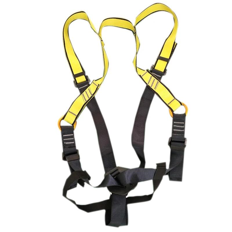2Pcs Rock Climbing Sit Harness Outdoor Harness Belt Seat Wear-Resistant Sit K8X4