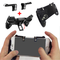 Mobile Gamepad Joystick for PUBG L1 R1 Trigger Game Shooter Controller for iPhone Android Mobile Phone Gaming Gamepad