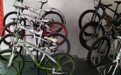s11F 26inch Wheel snow electric bicycle 350W/500W Aluminum alloy Folding Suspension Frame electric bike e bike 14