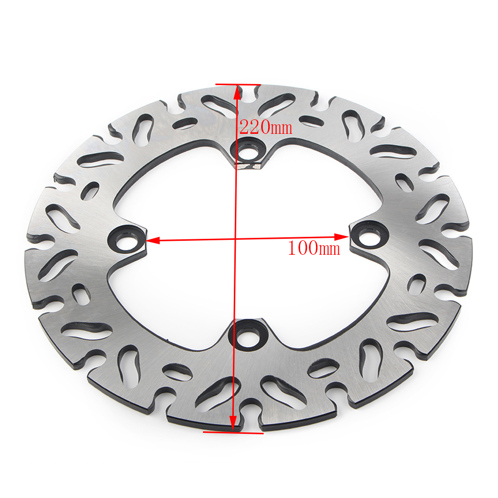 Motorcycle Rear <font><b>Brake</b></font> <font><b>Disc</b></font> Rotor For <font><b>Kawasaki</b></font> ER6N ER6F 2006-15 & Z1000 03-06 & <font><b>Z750</b></font> 04-06 &ZX6R NINJA 1998-16 & ZX-10R 2004-14 image