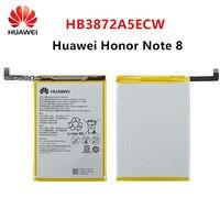 Hua wei 100% orginal hb3872a5ecw 4500 mah bateria para huawei honor note 8 note8 EDI-DL00 EDI-AL10 baterias de substituição