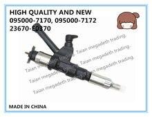 Injetor de combustível diesel de alta qualidade e novo 095000-7170, 095000-7172, 23670-e0370