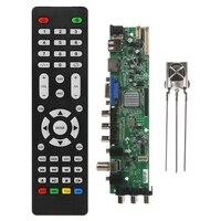 Frete grátis ram 1 + 4g msd338stv5.0 rede sem fio tv placa motorista universal lcd