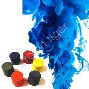 Image 1 - Accesorios de humo mágico de colores, escenario pirotécnico de fondo, estudio de fotografía, accesorios de humo, pastel, niebla, juguetes para trucos de magia