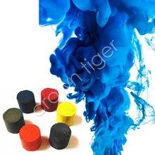Colorido mágico adereços de fumo, truques de pirotécnica, cenário de fundo, estúdio de fotografia, adereço, bolo, neblina, brinquedos de tijolo mágico